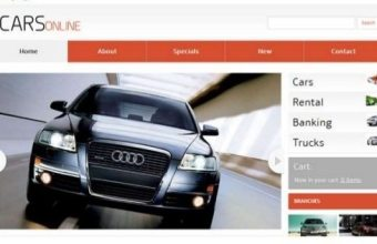 Web based Vehicle Showroom