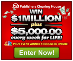 Free Money Giveaway – $5,000 a Week for Life