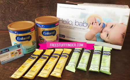 Free Enfamil Sample Kit + High Value Coupons