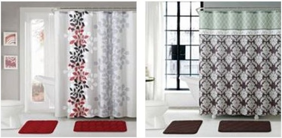 HOT* $1599 (Reg $60) Shower Curtain Set - living room curtains kohls