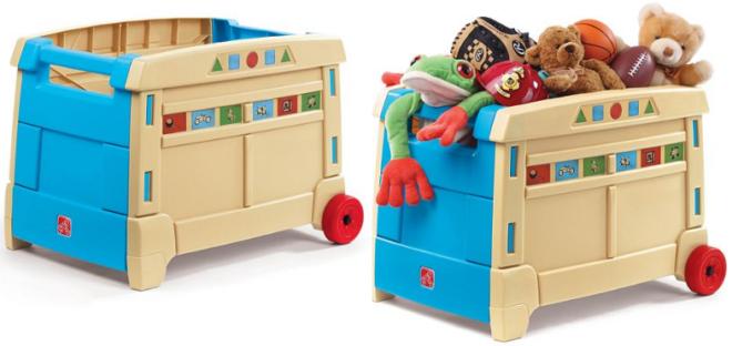 3429 Reg 55 Step2 Lift Roll Toy Box Free Shipping