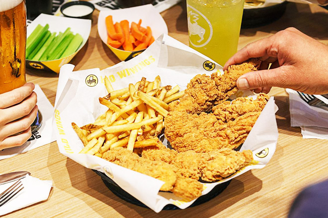 Buy 1 Get 1 FREE Chicken Tenders at Buffalo Wild Wings (Today Only!)