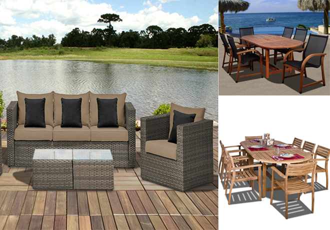 Amazon: Up to 55% Off Amazonia & Atlantic Patio Furniture