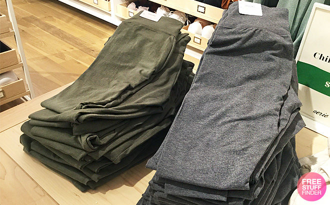 Buy One Get One Free Aerie Chill Leggings Online Only