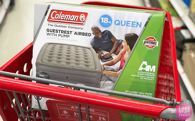 Coleman 18 Inch Double High Queen Airbed Only 4499