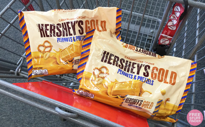Two Free Hershey39s Gold Bags At Cvs Print Coupons Now