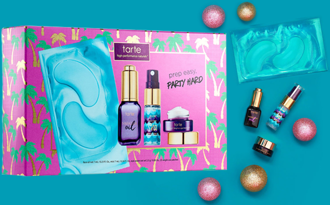 Tarte Party Prep 4 Piece Skincare Set For Just 960 37