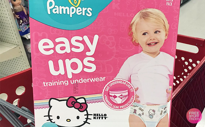 Amazon Family Pampers Easy Ups 124 Ct Box Just 25 Free