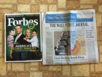 Forbes July 21 magazine - The Wall Street Journal