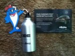 #CharlieOnTheGo - Limited-edition Jeep Cherokee Effect water bottle for Participating in The Cherokee Effect Sweepstakes