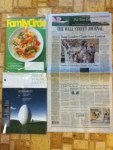 Family Circle September magazine - Poultry Health Today magazine - The Wall Street Journal