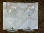 Free Skinny Cow Wine Glass Set - Earn free items by logging in everyday- Share and Tweet - watch a commercial exc. On the Skinny Cow web sight - Thank very much for our order