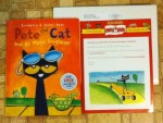 I was a Winner in the Sun-maids Snack-n-Read promotion - won a book Pete the Cat and His Magic Sunglasses