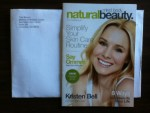 Mini mind. body. naturalbeauty magazine from Total Beauty Midwest Distribution Center