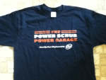 Winner in the Dial For Men - Power Scrub Power Garage  Sweepstakes - Won a T-shirt