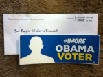 #1More Obama Voter Sticker from Democratic National Headquarters