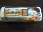 Mailed coupon for Free Great Day Farms All Natural Large Eggs from Walmart