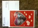 Custom Valentines Card from Cherishables