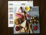 DeLallo 2015 calendar with coupons
