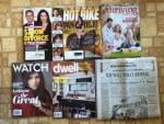 In Touch Weekly - Hot Bike April magazine - Focus on the Family Thriving Family February-March magazine - Watch February magazine - Dwell March magazine - The Wall Street Journal