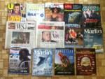 US Weekly -Dairy February magazine - Black Enterprise October 2014 magazine - The Economist Weekly - Progressive Grocer February magazine - 2 - Wall Street Journals - Illinois Farm Bureau Partne