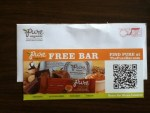 Coupon for a Free Pure Organic Bar