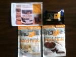 Elisabeth Hasselbeck's NoGii_NoGluten Cookies & Cream Super Protein Bar - Vanilla Bean and Cocoa Chocolate NoGii's Whey & Quinoa Protein Powder