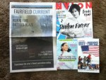 Fairfield Current Weekly - Nylon April magazine - Prevention April magazine - 2015 Unity of Purpose Meeting Registration Card