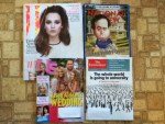 W April magazine - National Review Weekly - US Weekly - The Economist Weekly