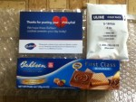 Free box of Bahlsen Cookies - had to tweet #VdayFail - come in a bigger box in bubble wrap & a ULINE cold pack to keep it cool - Thank you very much Bahlsen