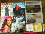Men's Fitness June magazine - Autoweek Weekly - Fairfield Currant Weekly - Wabash Valley May Newsletter - Vanidades June magazine - Marlin June-July Magazine -