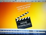 Winner in the Lay's Summer Day Promotion - Won a Movie Download