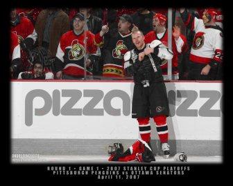Game 1: Pittsburgh Penguins vs Ottawa Senators 4.11.2007 (PHOTO: Andre Ringuette/Freestyle Photography)