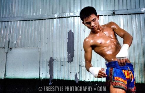 Muay Thai - Bangkok, Thailand ©Andre Ringuette/Freestyle Photography
