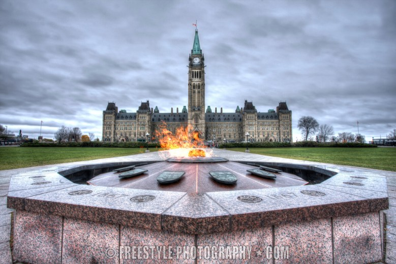 Peacetower flag at half mast Oct. 29, 2012 PHOTO: Andre Ringuette/Freestyle Photography