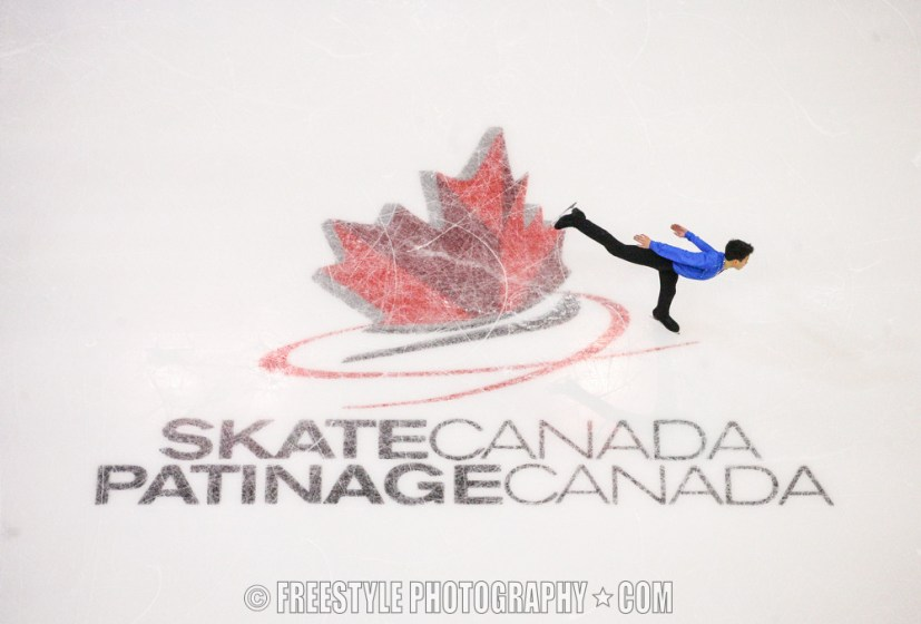 OTTAWA, ON - JANUARY 11: Nam Nguyen skates in the Senior Men Free Program during the 2014 Canadian Tire National Figure Skating Championships at Canadian Tire Centre on January 11, 2014 in Ottawa, Ontario, Canada. (Photo by Andre Ringuette/Getty Images)