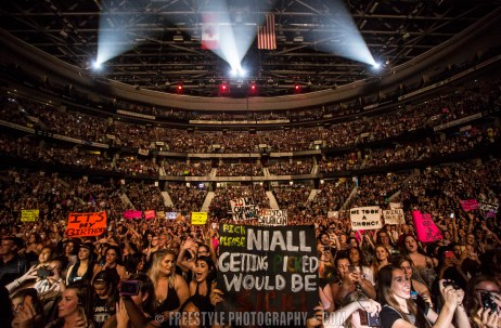 One Direction - Canadian Tire Centre Sept. 8, 2015 PHOTO: Andre Ringuette/Freestyle Photography