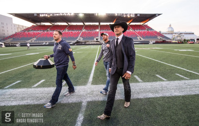OTTAWA, ON - JUNE 18: Donald Cerrone arrives for the UFC Fight Night event inside the TD Place Arena on June 18, 2016 in Ottawa, Ontario, Canada. (Photo by Andre Ringuette/Zuffa LLC/Zuffa LLC via Getty Images)