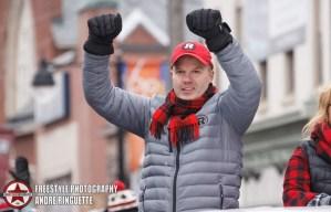 Ottawa REDBLACKS Grey Cup ParadeNovember 29, 2016PHOTO: Andre Ringuette/Freestyle Photography