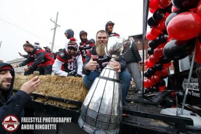 Ottawa REDBLACKS Grey Cup Parade November 29, 2016 PHOTO: Andre Ringuette/Freestyle Photography