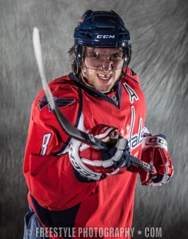 The Hockey News Alex Ovechkin Photo Shoot 2009 (PHOTO: Andre Ringuette/Freestyle Photography)