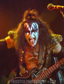 Kiss - Corel Centre AUG. 5, 1996 (PHOTO: Andre Ringuette/Freestyle Photography)
