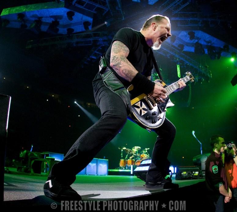 Metallica - Scotiabank Place Nov. 03, 2009 (PHOTO: Francois Laplante/Freestyle Photography)