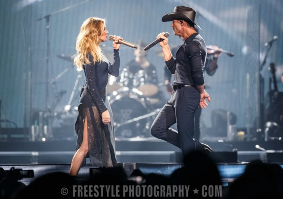 Tim McGraw and Faith Hill - Canadian Tire Centre June 22, 2017 PHOTO: Andre Ringuette/Freestyle Photography