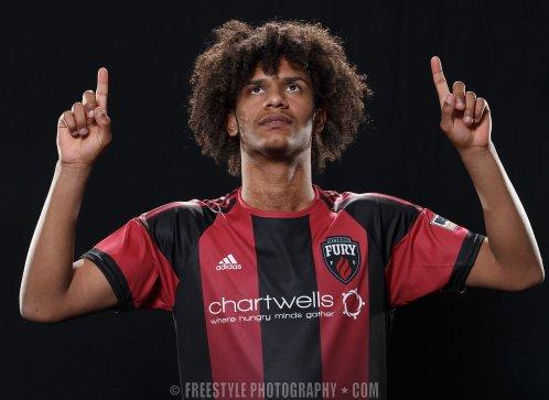 Ottawa FURY FC portraits PHOTO: Andre Ringuette/Freestyle Photography
