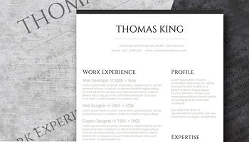 How To Create A Resume In Microsoft Word With 3 Sample Professional Resume Template Freebie Sleek And Simple