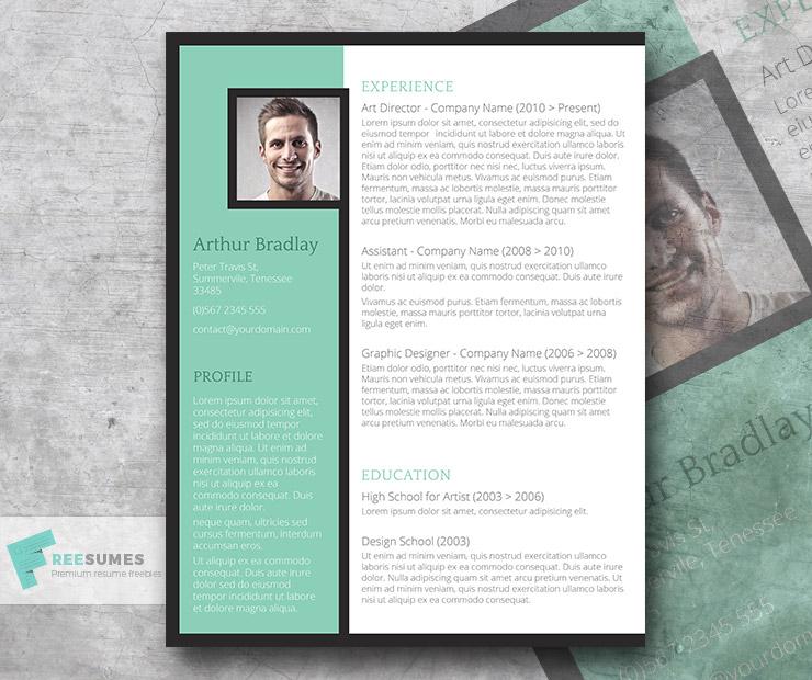 The Artistic Jobseeker \u2013 A Creative CV Template Freebie - Freesumes - artistic resume