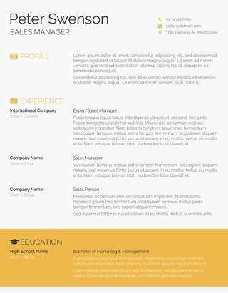 75 Free Resume Templates for MS Word - Freesumes - free professional resume template