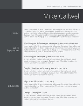 125 Free Resume Templates for Word Downloadable - Freesumes