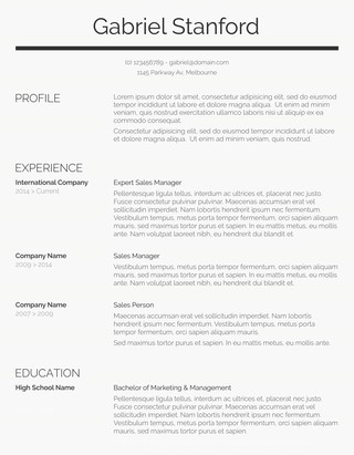 105 Free Resume Templates for Word Downloadable - Freesumes - it resume templates